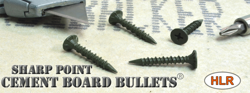 Cement Board Screws Wood Light Steel